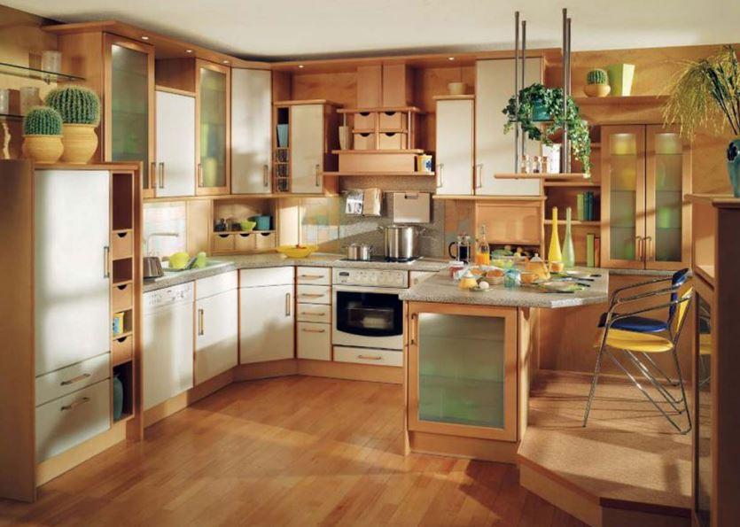 Ahşap Tarzlı Mutfaklar