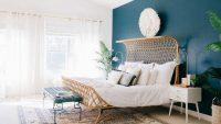 2018 Bohem Tarzı Yatak Odası Dekorasyonları