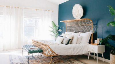 Bohem Tarzı Yatak Odası Dekorasyonları