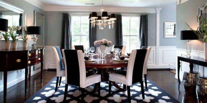 2018 Yuvarlak Yemek Odası Masası Modelleri