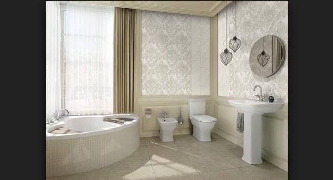 Açık Renk Banyolarda Fayans Seçimi