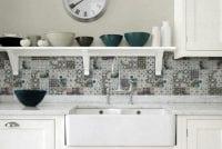 Mutfaklar İçin Desenli Fayans Modelleri