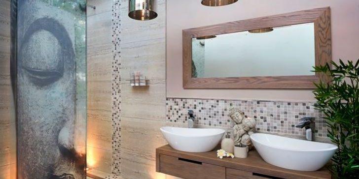 Spa Dekorasyonuna Sahip Banyolar