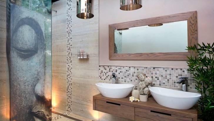 SPA Görüntüsüne Sahip Banyo Dekorasyonları