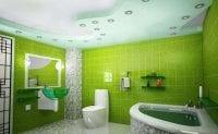 Yeşil Renk Fayans