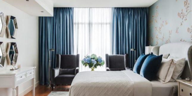 2018 Yatak Odası Dekorasyonunda Perde Seçimleri