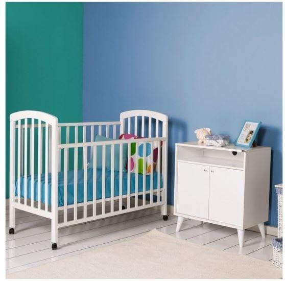 Tekzen çocuk odası - Adore max home kiddy doğal ahşap beşik beyaz