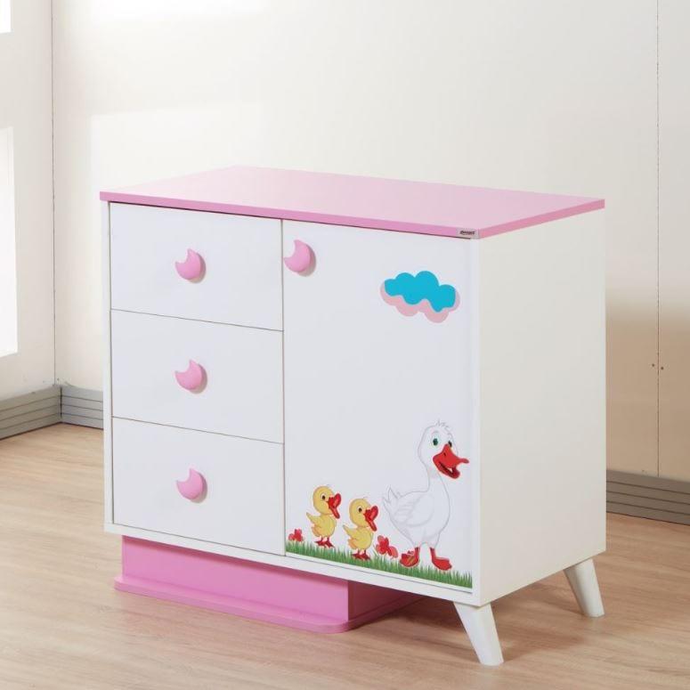 Tekzen çocuk odası modelleri - Dessenti Miray Şifonyer