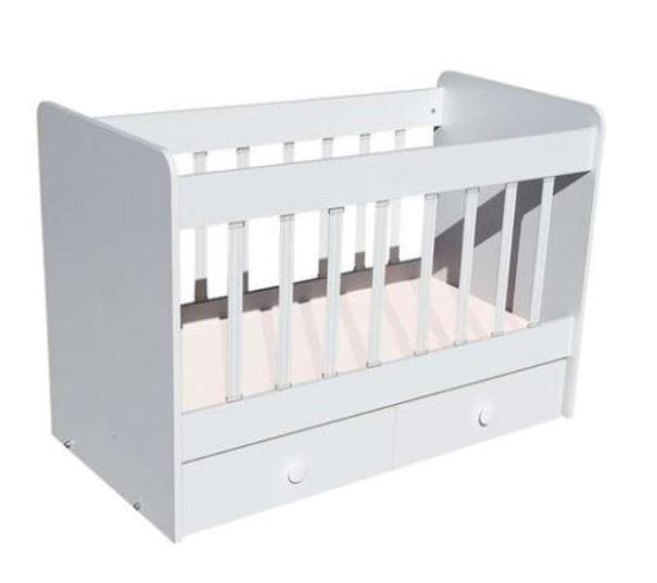 Tekzen çocuk odası modelleri - Dessenti risa nil beşik beyaz