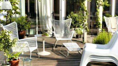IKEA Bahçe Mobilyaları ve Bahçe Süsleri