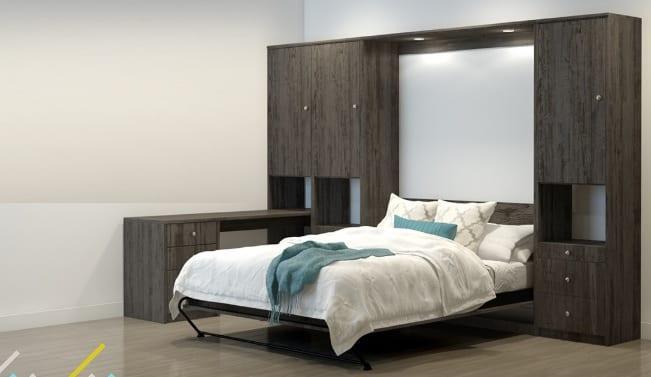 Açılıp kapanabilen duvar yatak modelleri