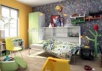 Genç odası duvar yatağı