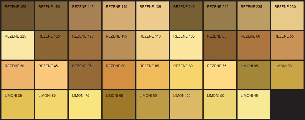 Filli Boya kahverenginin tüm renk tonları