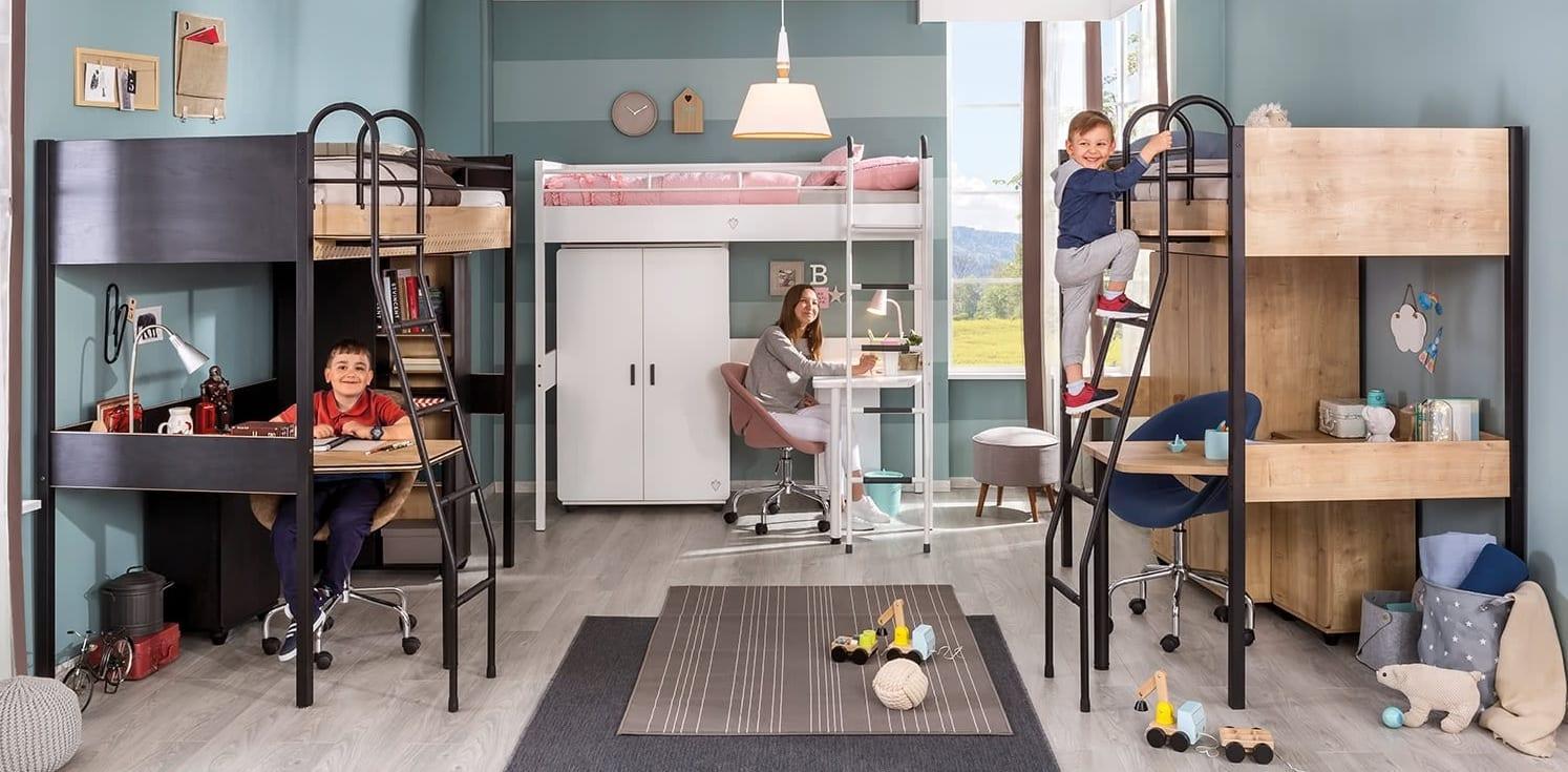 Çilek Mobilya Compact serisi genç odası