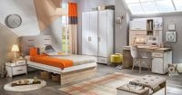Çilek Mobilya Dynamic serisi genç odası