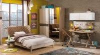 Çilek Mobilya Lofter serisi genç odası