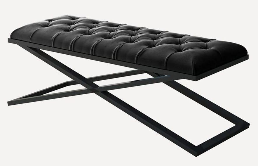 Siyah renk yeni modern benc modeli