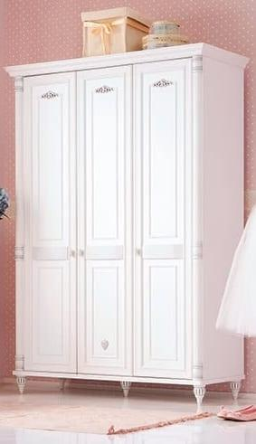 Çilek Genç Odası : Romantic Serisi 3 Kapılı Dolap