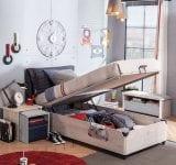 Çilek Genç Odası Trio Serisi : Yatak Baza Modeli
