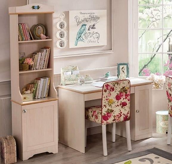 Çilek Genç Odası Flower Serisi : Çalışma Masası