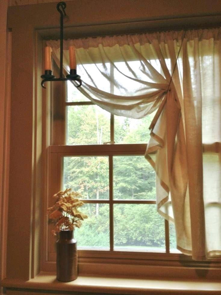 perde modeli dar pencere için