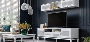 Enza Home TV Ünitesi Tasarımları İle Hayalinizdeki Dekorasyonu Yansıtın!
